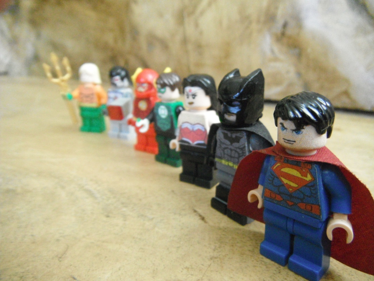 Justice League new 52 lego -edario