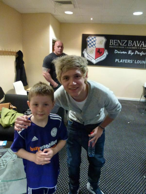 Niall today