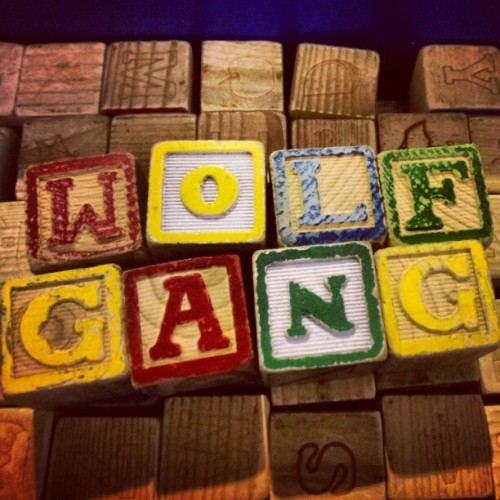 zombies—for—lunch:  Being silly #ofwgkta #oddfuture #wolfgang (Taken with instagram)