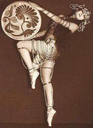 My Bohemian History  German dancer/actress Anita Berber, c. 1920