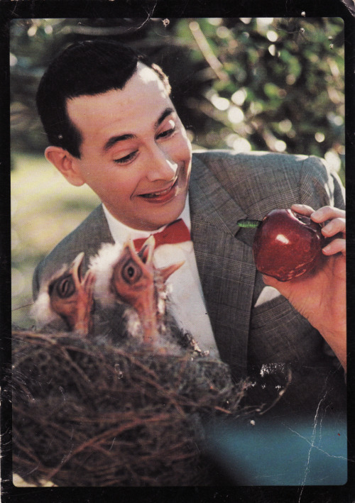 jubadaba:  Pee Wee Herman  Just watched this today!