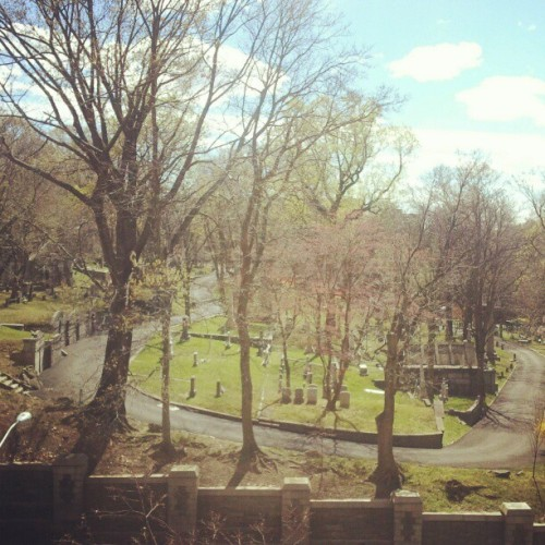 Trinity Church Cementary #washingtonheights #inwood #instagramuptown #uptown #cementary #church  (Taken with instagram)