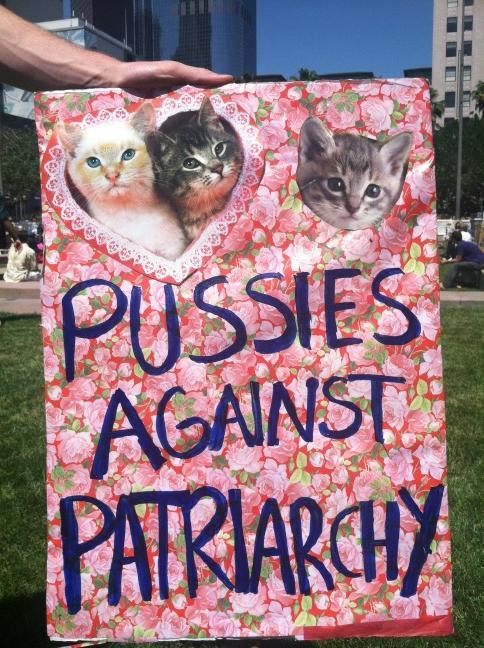 peace and justice MEOW!! catpunx:  Oh, I saw this sign at a rally thing I went to yesterday. Internet, you make it a small world.