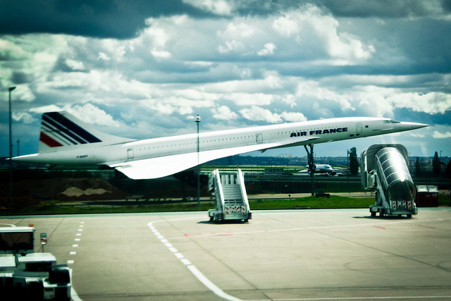 Concorde on Flickr.Aeroport Charles de Gaulle, Paris April 2012
