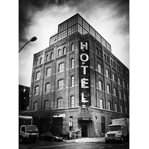 #Wythe #Hotel in #Williamsburg #Brooklyn (Taken with instagram)