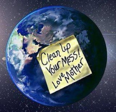 isf-slovakia:  Clean up your mess ! -Love Mother