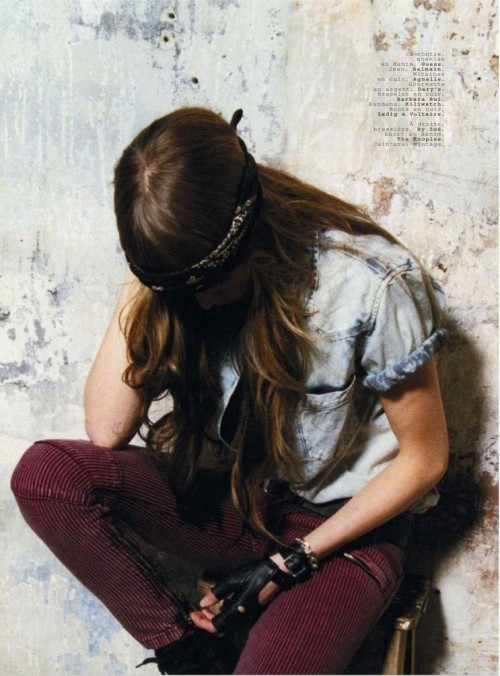 Jalouse France #139 April 2011 Title : Edie by Eddy Photography : Eddy Plongeon Model : Edie Campbell