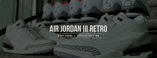 Air Jordan III Retro Facebook Cover