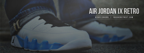 Air Jordan IX Retro Facebook Cover