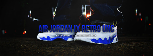 Air Jordan IX Retro UNC Facebook Cover
