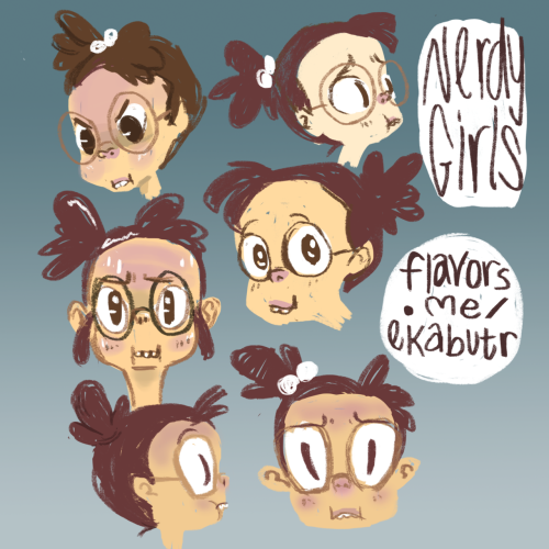 more little nerdy girl heads for ya'll
