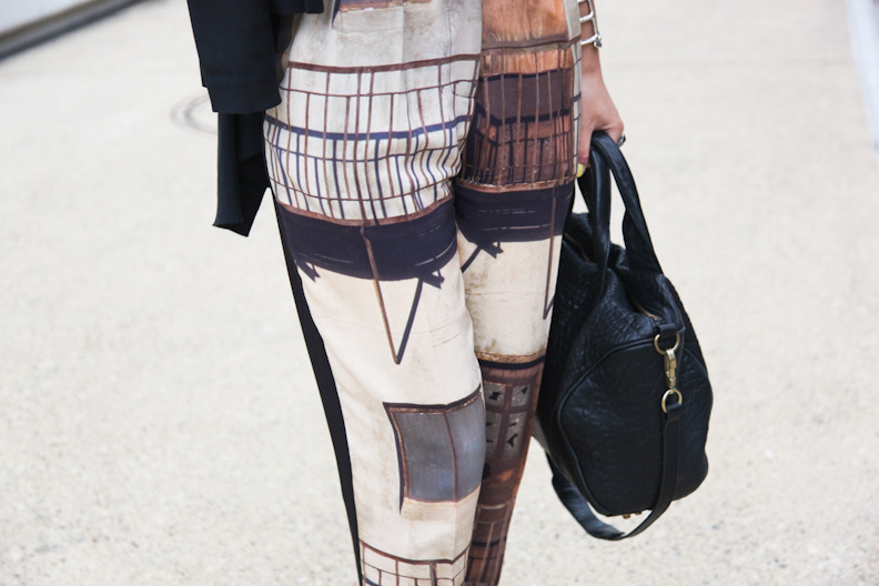 Karla Spetic trousers and Alexander Wang bag. BOOM. Done.