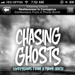 morning work tunes #6 my man @chasingghosts  (Taken with instagram)
