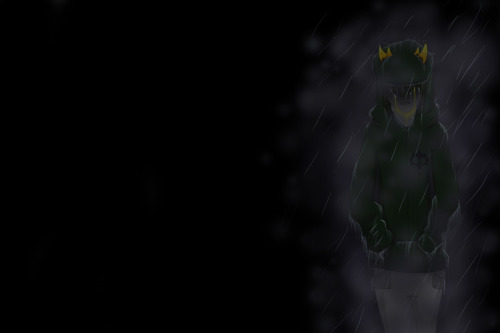 luckylittleclover317:  I call this emo!Sollux. It's sort of a background..