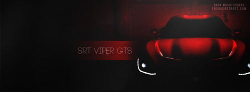 SRT VIPER GTS Facebook Covers
