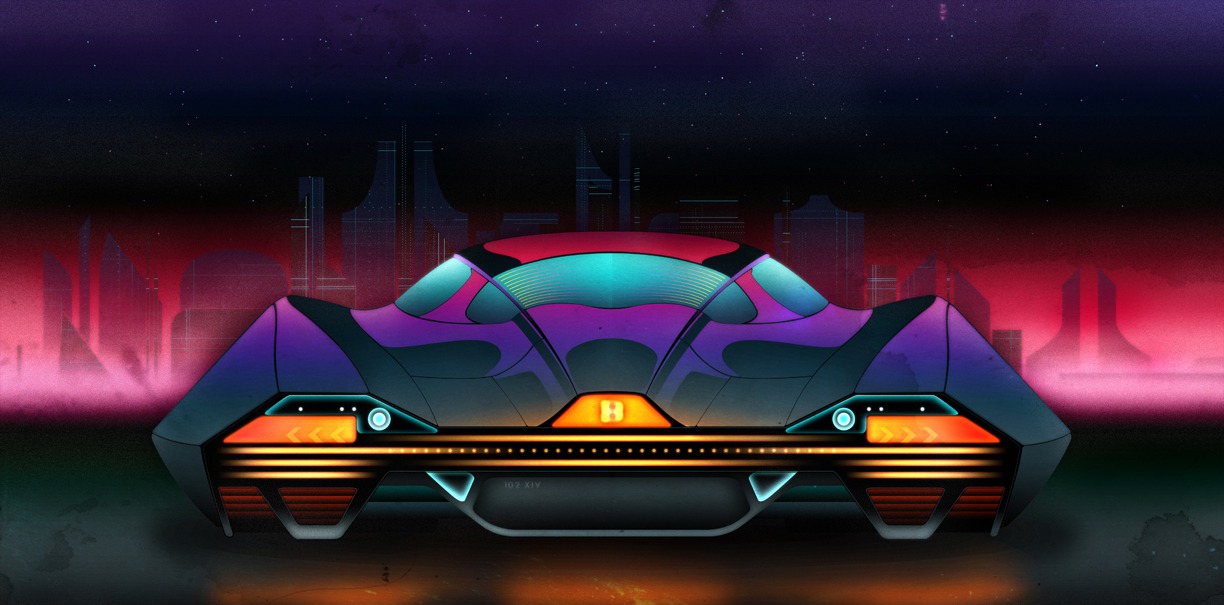 Auto Design inspired by Neo-Gotham by Dylan Rose