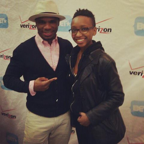 Me and Kirk Franklin! <3