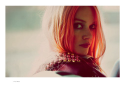 Lindsay Ellingson by Guy Aroch for Interview Russia, May 2012. Fashion Gone Rogue.