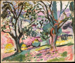 Henri Matisse, Olive Trees at Collioure, c. 1905.