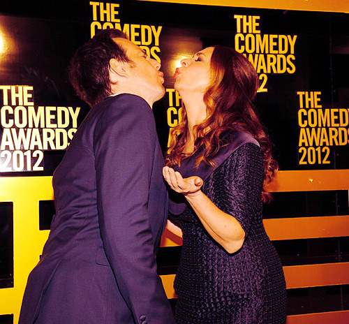 annperkins:  Will Arnett and Maya Rudolph attend The Comedy Awards 2012 at Hammerstein Ballroom on 4/28/2012 in NYC.