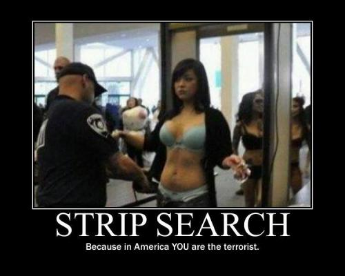 strip search…