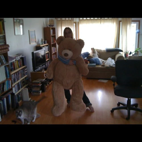 Me and my Teddy bear (Taken with instagram)