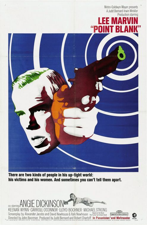 Point Blank (John Boorman), 1967, Lee Marvin, Angie Dickinson, Carroll O'Connor