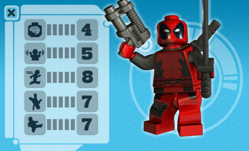 So I just got the DeadPool and Wolverine Lego Set. Damn, it's so sweet. :)