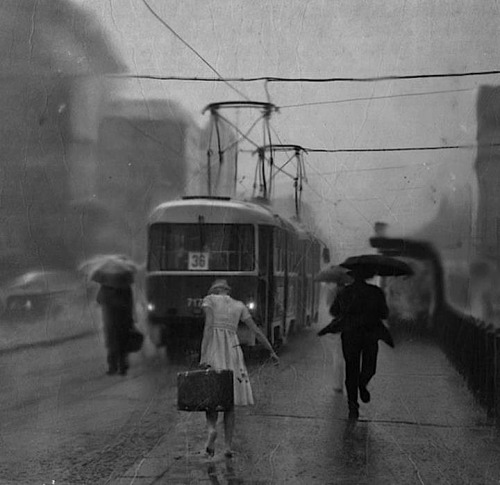 "goodmemory:  luzfosca:  Alex Howitt  ""Rainy Day"", Undated"