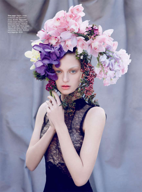 fuckyeahrunwayhair:  Codie Young by Nicole Bentley for Vogue Australia April 2011