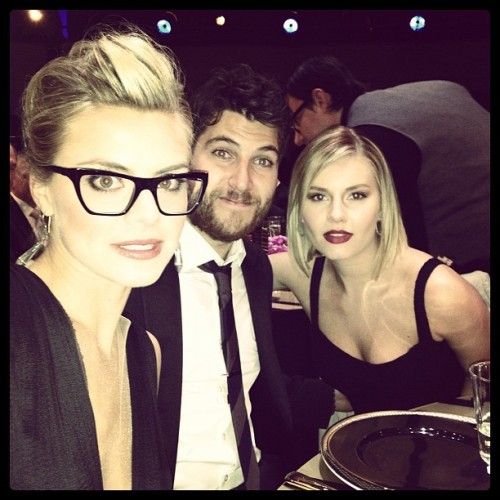 tomfoolery815:  Eliza Coupe Fucking right we're at the Comedy Awards.