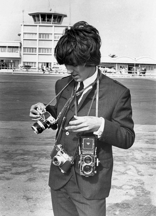 George Harrison, photographer.