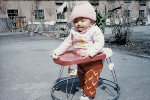asianbabiesyesss:  Boyfriend as a baby while in China!