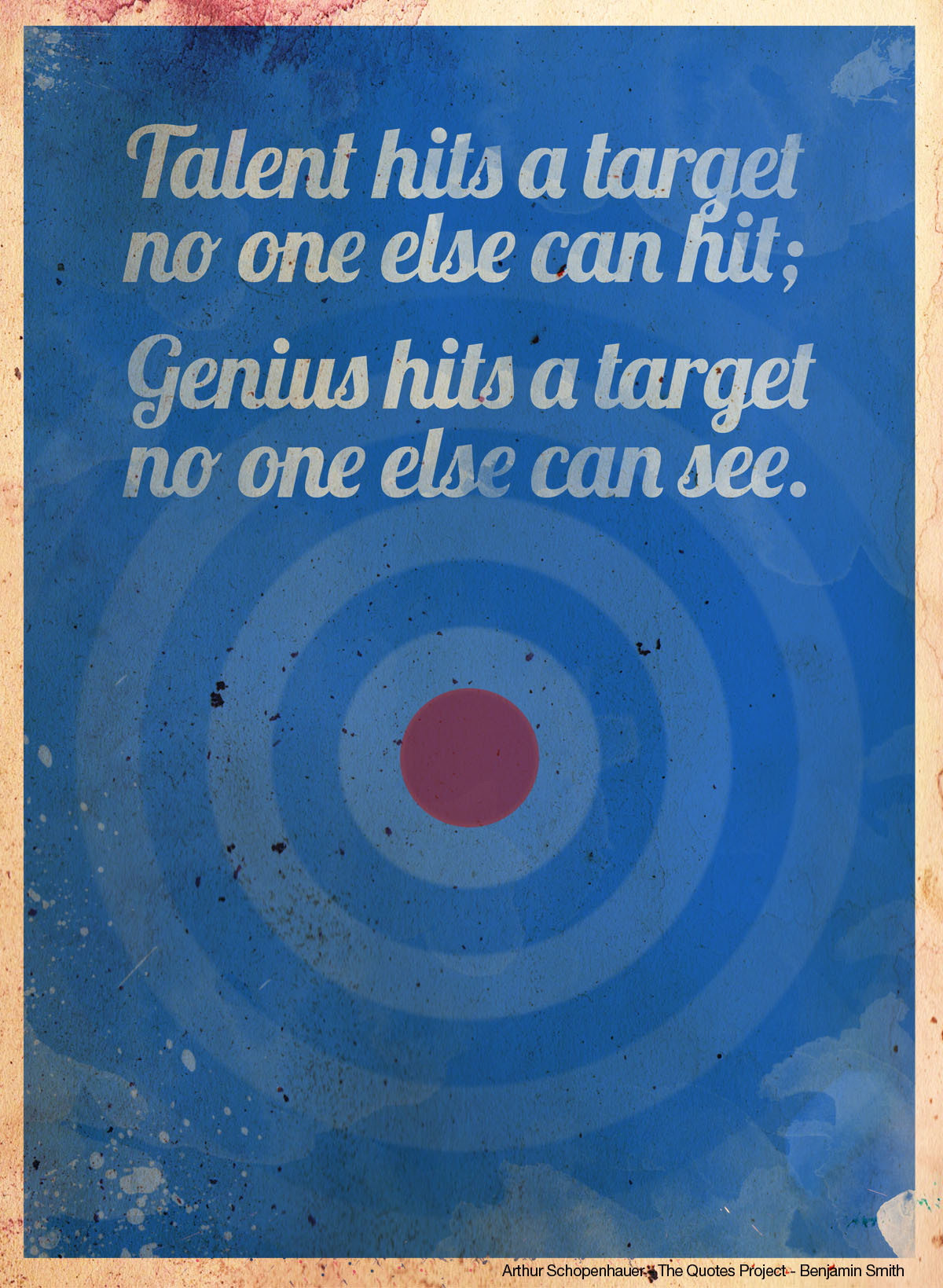Genius - The Quotes Project - Benjamin Smith