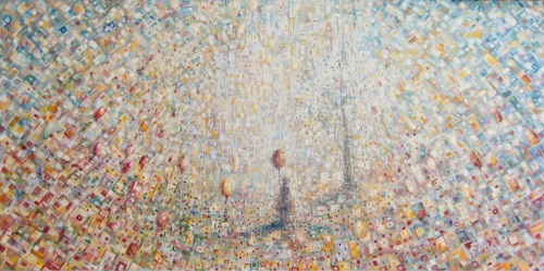 Rising Hope / Oil on Canvas / 50 x 100 cm / 2011