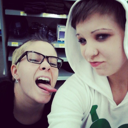 Just chillin at walmart (Taken with instagram)