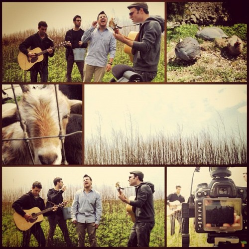 nghbrs:  It was a beautiful day for an acoustic video! (Taken with instagram)  :)