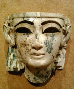 tammuz:  Ivory Neo-Assyrian head of a man with Phoenician and Egyptian styles. It was found in Nimrud, and was originally attached to a larger sculpture. The Metropolitan Museum of Art, New York City, NY. Photo by Babylon Chronicle