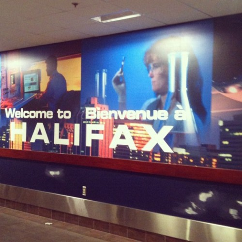 Welcome to Halifax! We have science! (Taken with Instagram at YHZ)  - home