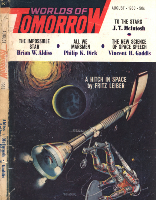 itcamefromouterspace:  Worlds of Tomorrow - August 1963