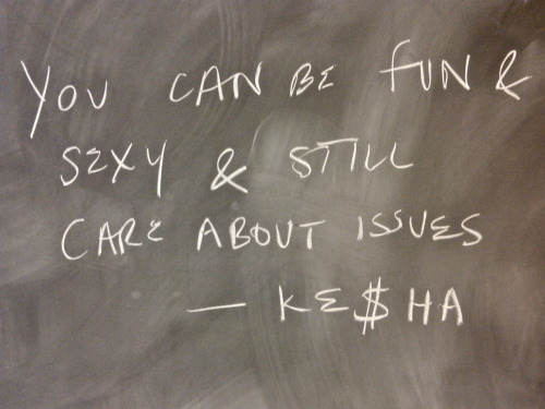 Chalkboard motivation for finals.