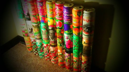 Yeah I collect Arizona cans :)
