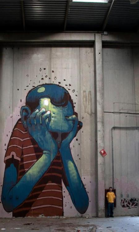 ARYZ. Via: The Real Art of Street Art.