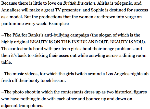 Wrote a somewhat epic thing about America's Next Top Model. Check it out!