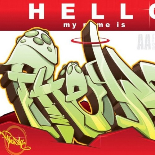 all-areas:  Hello my name is PhewOne | Illustration (Taken with instagram)