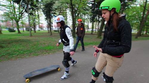 initiation d'une roller derby