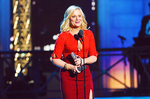 annperkins:  Amy Poehler accepts the award for Best Comedy Actress onstage at The Comedy Awards 2012 at Hammerstein Ballroom on 4/28/2012 in NYC.