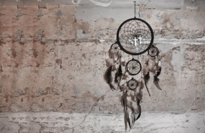 cross, dreamcatcher, vintage - inspiring picture on Favim.com on We Heart It. http://weheartit.com/entry/27595215