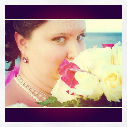 Lovely Bride (Taken with instagram)