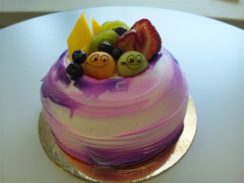Taro Mousse Cake from Hong Kong Island Bakery